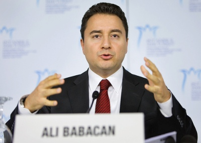"Turkey's Deputy Prime Minister and Economy Minister Ali Babacan: ""A new occasion to enhance the visibility of not only Turkey but also Istanbul"" (photo: Stephen Jaffe/IMF)"
