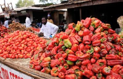 Nigerian market: many African economies are in better shape than during previous crises (photo: Reuters)