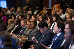 A full house during the seminar Financing for Development: The Way Forward during the 2015 IMF/World Bank Spring Meetings on Friday, April 17 in Washington, D.C. IMF Photo/Ryan Rayburn