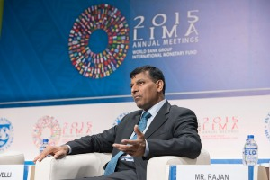 Raghuram Rajan, Reserve Bank of India, Governor speaks during the flagship seminar Financial Inclusion: Can it Meet Multiple Macroeconomic Goals