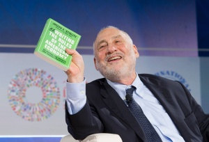Joseph Stiglitz, Columbia University, speaks during the seminar Structural Reforms, Inequality, and Growth, during the 2015 IMF/World Bank Annual Meetings on Friday, October 9 in Lima, Peru. Ryan Rayburn/IMF Photo